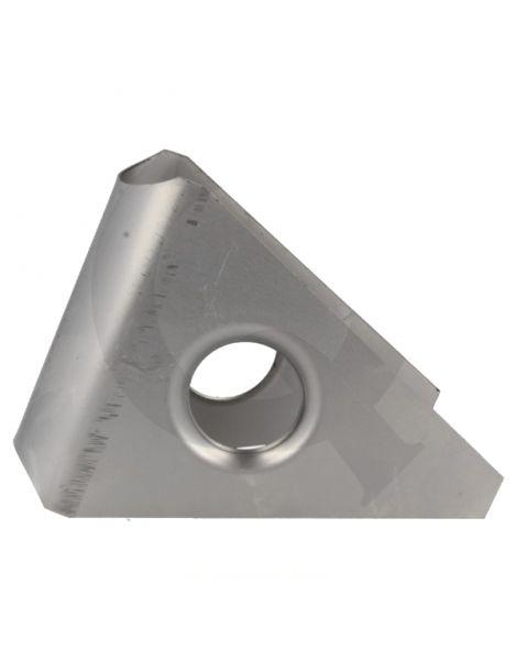 Gousset renfort arceau angle 45° acier, ouvert