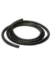 Gaine spirale pour câbles / fils électrique, diamètre 18mm, longueur 10M, coloris au choix
