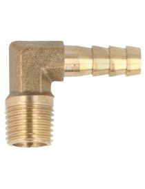 "Adaptateur 90° 1/8"" NPT - durite diamètre 10mm ou durite DASH 6 série 200/210/536/TF-TU25"