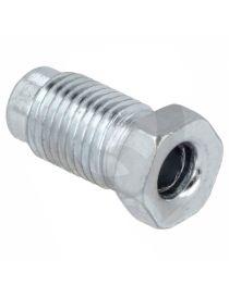 "Raccord mâle JIC 3/8""-24 (DASH3) acier longueur 21mm pour tuyau rigide"