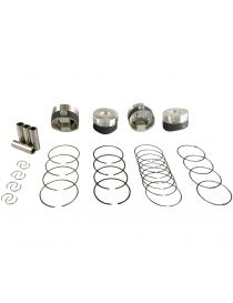 CITROEN PEUGEOT 1.6 16V THP EP6DT EP6DTS EP6C EP6CDTX EP6CDT N12B16A N14B16A Kit 4 pistons forgés WISECO RV 10.1:1
