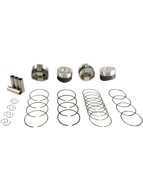Kit 4 pistons forgés WISECO RV 10.1:1 (montage turbo) pour CITROEN MINI PEUGEOT 1.6 16V THP EP6DT EP6DTS EP6C EP6CDTX EP6CDT N12