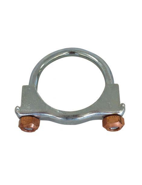 Collier d'échappement en U pour tube diamètre 55mm