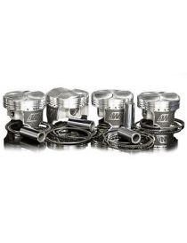 Kit 4 pistons forgés WISECO RV 8.5:1 (montage turbo) pour PEUGEOT 206 S16 2.0 16v EW10J4 136cv 06/1999-