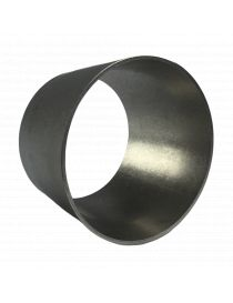 Réducteur inox conique symétrique diamètre 76.1-60.3mm longueur 47mm