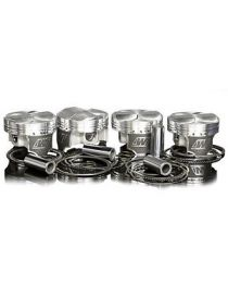 Kit 4 pistons forgés WISECO RV 8.5:1 (montage turbo) pour RENAULT Clio Williams 2.0 16V F7R 147cv 01/1994-09/1998