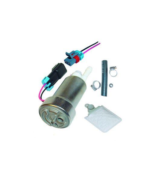 Pompe à essence interne WALBRO 450L/H compatible éthanol (E85) avec accessoires