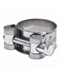 32-35mm - Collier renforcé en acier chromé, visserie zinguée