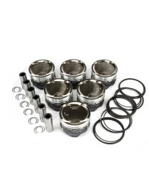 Kit 6 pistons forgés WISECO RV 8.5:1 (montage turbo) pour AUDI RS4 B5 Bi Turbo 2.7 30V AZR 380cv 05/2000-09/2001