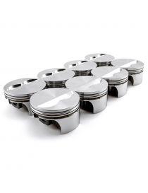 Kit 8 pistons forgés WISECO RV 8.7:1 (montage turbo) pour VOLVO S80 4.4 32V V8 B8444S 316cv 03/2006-03/2012