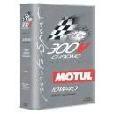 Huile moteur MOTUL 300V CHRONO 10W40 - Bidon 2L