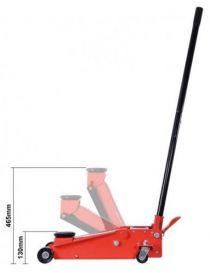 Cric hydraulique 3T - Hauteur de levage : 130 à 465mm - Poids : 31kg