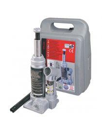 Cric hydraulique 2T type bouteille - Hauteur de levage : 158 à 308mm