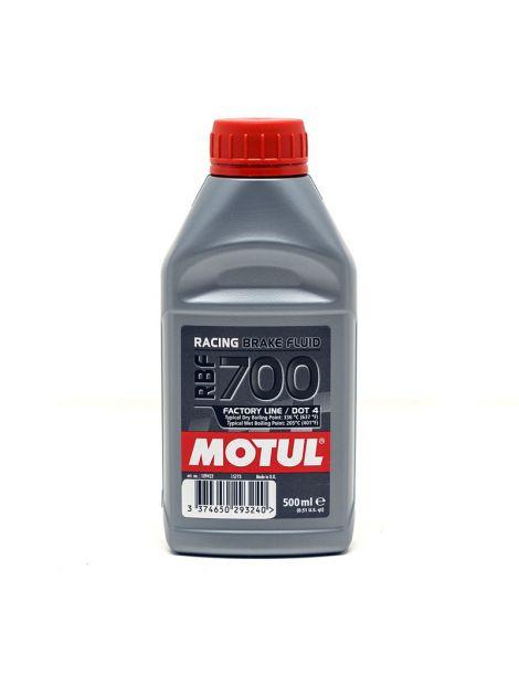 Liquide de frein MOTUL RBF 700 Factory Line DOT 4 - Bidon 0.5L
