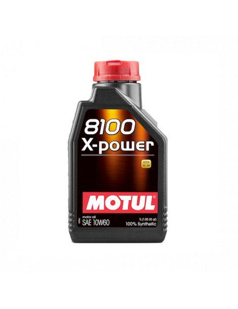 Huile moteur MOTUL 8100 X-POWER 10W60 - Bidon 1L