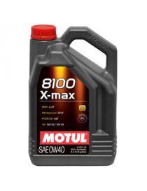 Huile moteur MOTUL 8100 X-MAX 0W40 - Bidon 5L