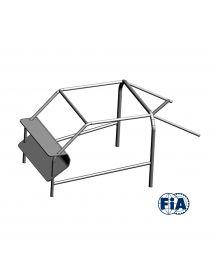 Arceau Standard FIA OMP 10 points à boulonner pour HONDA CIVIC IV 1.6L 3 portes EG6 B16A2 160CV 1992-1995