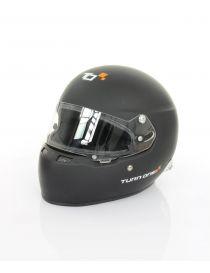Casque intégrale TURN ONE Full-RS Noir Mat avec visière homologué FIA 8859-2015 et SNELL SA2015