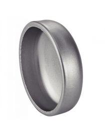 139.7 x 2mm - Fond bombé inox à souder et percer pour silencieux