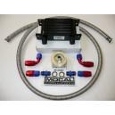 Kit radiateur huile 13 rangées DASH10 matrice 115mm plaque MOCAL standard
