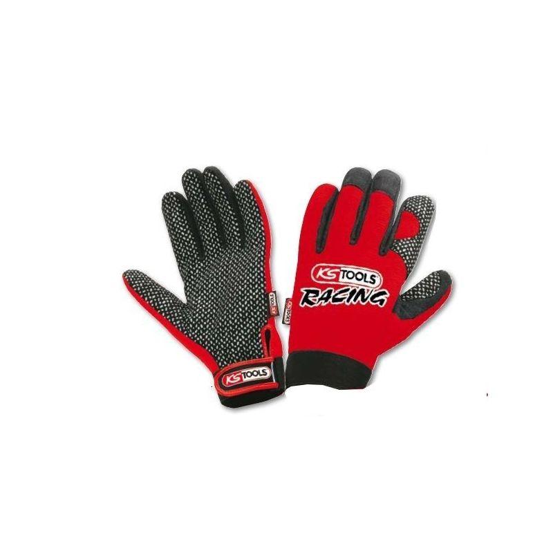 gants protection racing ks tools picots la paire. Black Bedroom Furniture Sets. Home Design Ideas