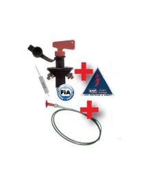 Kit coupe circuit 6 pôles à clef + résistance + tirette