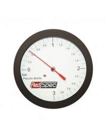 Manomètre pression de turbo RedSpec 0-3 bars