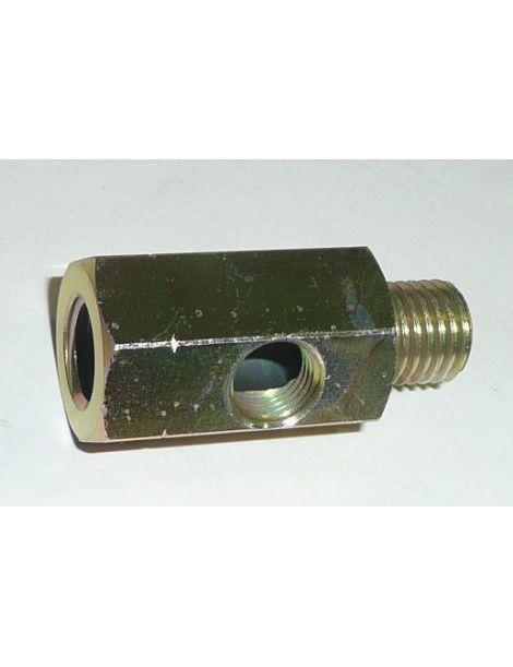 T pour capteur de pression d'huile M14x150