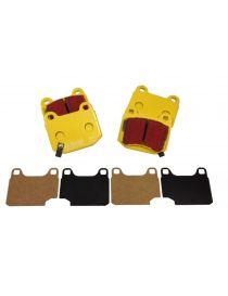 Etriers HISPEC Ultralite 2 et 4 - Plaquettes EBC Brake ® Jaune/Yellowstuff (le jeu)