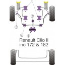Renault Clio RS 172 / 182 Kit Silent bloc Dur