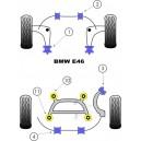 BMW Serie 3 E46 (99-06) Kit silent bloc dur