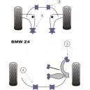 BMW Z4 (E85) Kit silent bloc dur