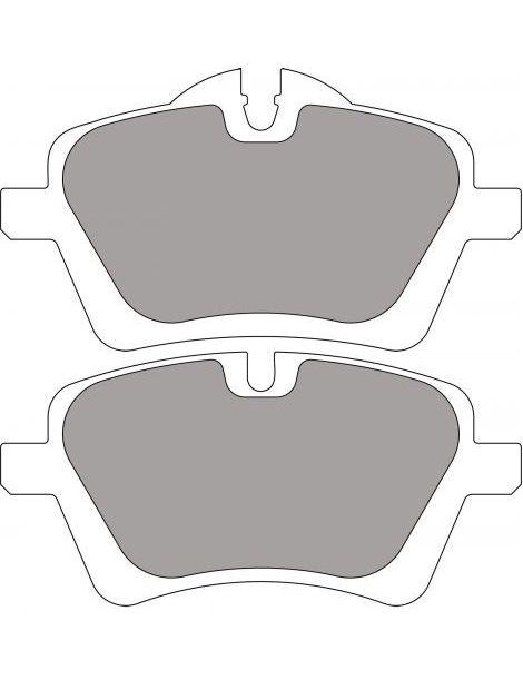 plaquettes ferodo fcp4080. Black Bedroom Furniture Sets. Home Design Ideas