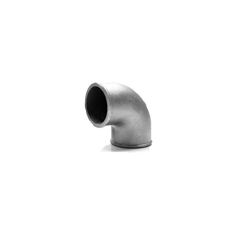Coude 90 aluminium moul diam tre ext rieur 51mm for Diametre exterieur