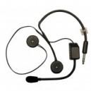 Kit micro + écouteurs - casque jet