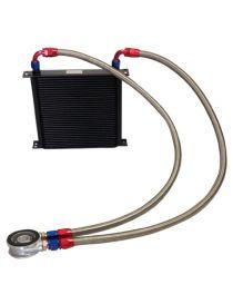 Kit radiateur huile matrice 235mm 34 rangées BREEZY DASH10, plaque standard MOCAL