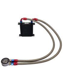 Kit radiateur huile matrice 115mm 25 rangées BREEZY DASH10, plaque standard MOCAL