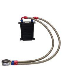 Kit radiateur huile matrice 115mm 34 rangées BREEZY DASH10, plaque standard MOCAL