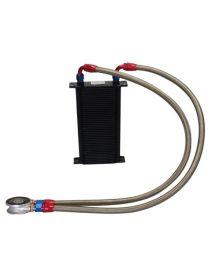 Kit radiateur huile matrice 115mm 44 rangées BREEZY DASH10, plaque standard MOCAL