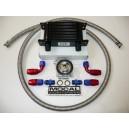 Matrice 115mm 13 rangées Kit radiateur huile avec plaque thermostatique 92°C MOCAL DASH10