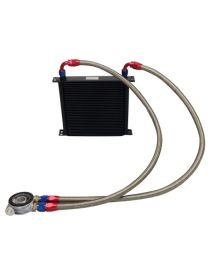 Kit radiateur huile matrice 235mm 34 rangées BREEZY DASH10, plaque thermostatique MOCAL 92°C