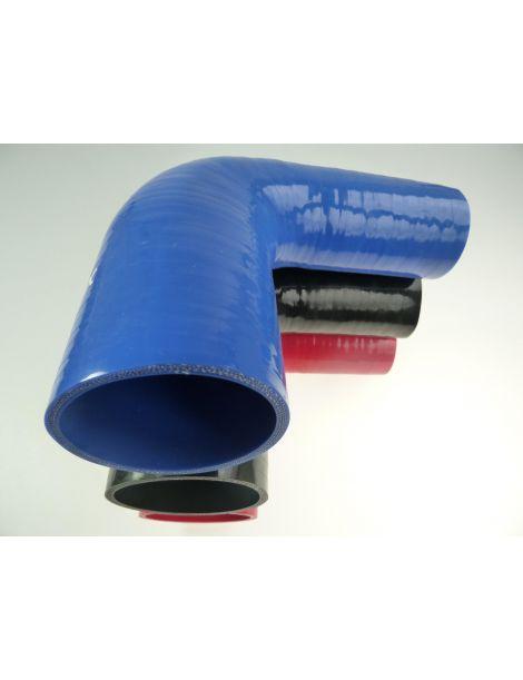 51-57mm - durite silicone réducteur coude 90° 4 plis
