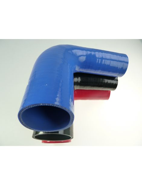 51-76mm - durite silicone réducteur coude 90° 4 plis