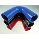 48mm - coude silicone 135° 3 plis
