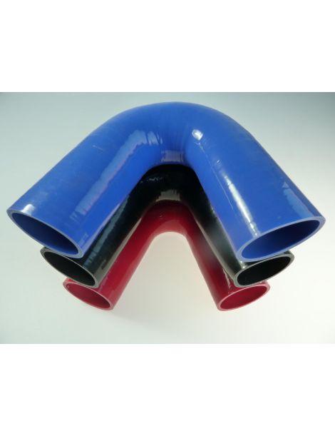 60mm - coude silicone 135° 4 plis
