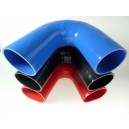 102mm - coude silicone 135° 5 plis
