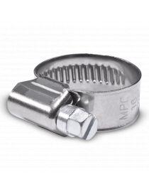 16-25mm - Collier de serrage inox largeur 12mm