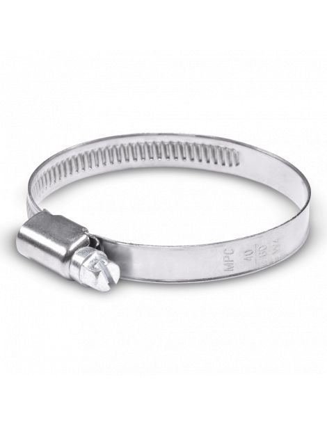 40-60mm - Collier de serrage inox largeur 9mm