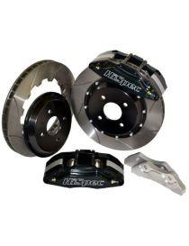 CITROEN C2 VTS Kit étriers Compétiton HiSpec RX132 4 pistons, pistes 340x28mm sur bol aluminium avec durites aviation