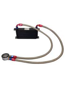 Kit radiateur huile matrice 235mm 19 rangées BREEZY DASH10, plaque standard MOCAL